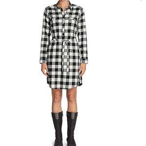 Eddie Bauer Stine's favorite flannel shirt dress